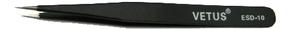 Пинцет антистатический металлический DOKA-ESD-10